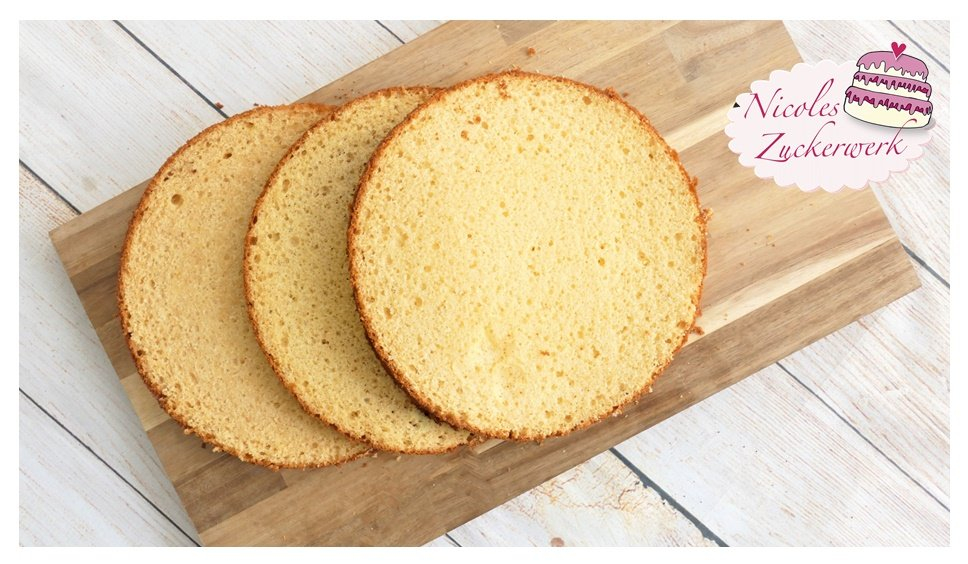 Great Changeable Sponge Cake I Wunderkuchen Recipe