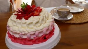 Erdbeer-Sahne-Torte 1
