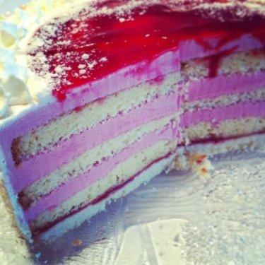 Himbeer Sahne Torte