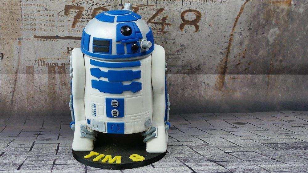 R2-D2 Star Wars Torte