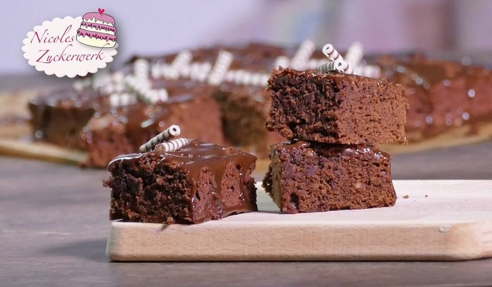 Dark Chocolate-Coffee-Brownies
