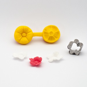 Nicoles Zuckerwerk Prägeset Kirschblüte
