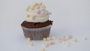 Nicoles Zuckerwerk Schokocupcakes mit Marshmallowfrosting 2