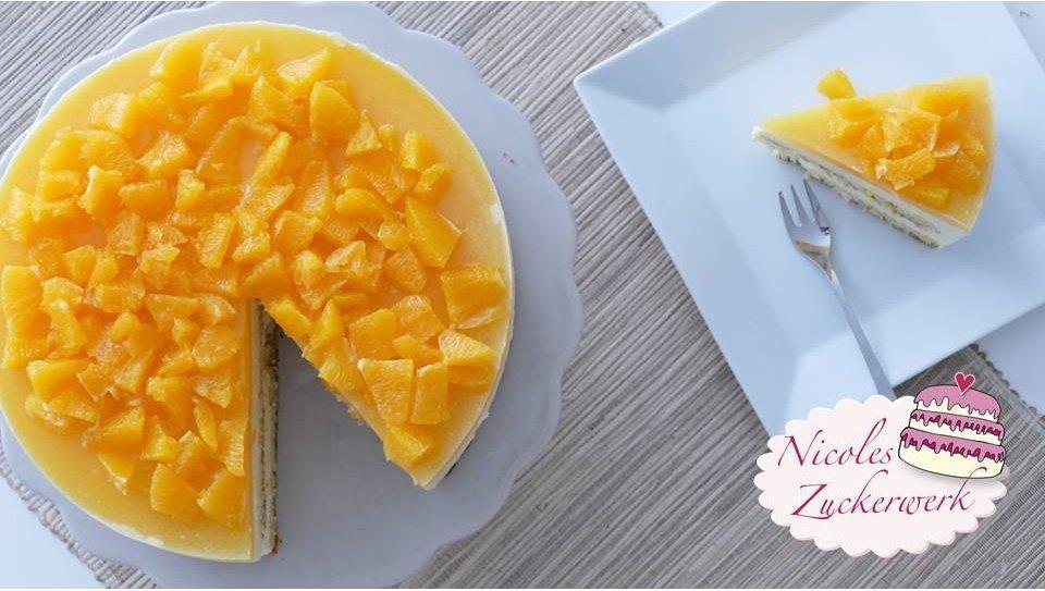 Orangen-Prosecco-Torte | lecker, fruchtig, spritzig