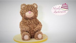 Nicoles Zuckerwerk Motivtorte Teddybär