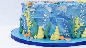 Nicoles Zuckerwerk Dorie Unterwasserwelt Torte