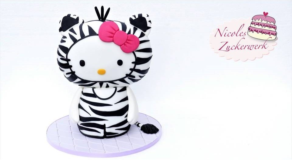Hello Kitty 3D Motivtorte