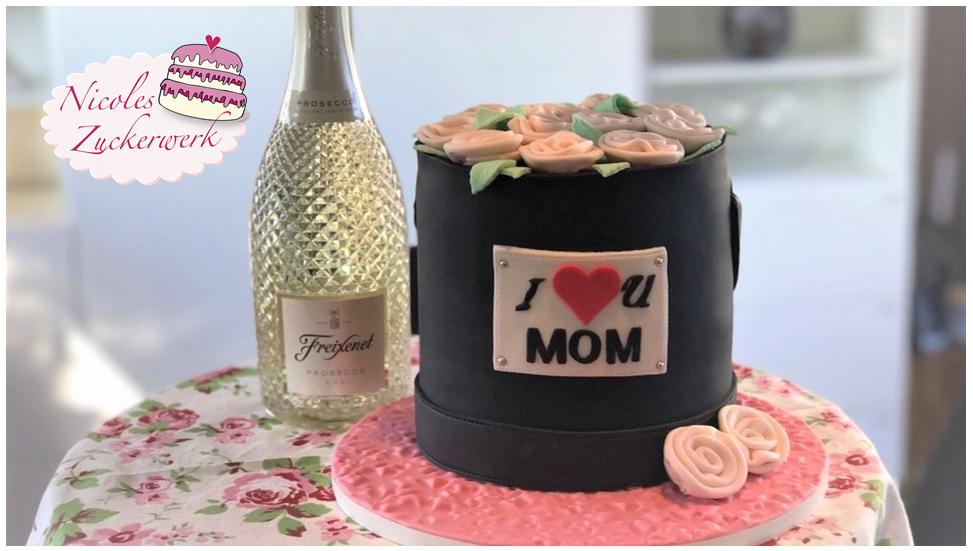 Flowerbox Motivtorte I Torte zu Muttertag