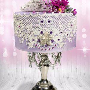 Nicoles Zuckerwerk Tasty Me Lace Silikonmatte Graceland