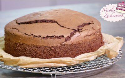Sacherboden I schokoladiges Rührkuchenrezept