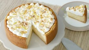 Nicoles Zuckerwerk Zitronen-Käsekuchen mit Baiserhaube 2