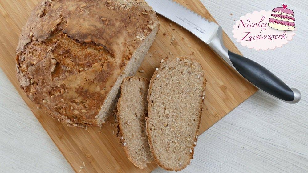 leckeres KÖRNERBROT I Brot einfach selbst backen