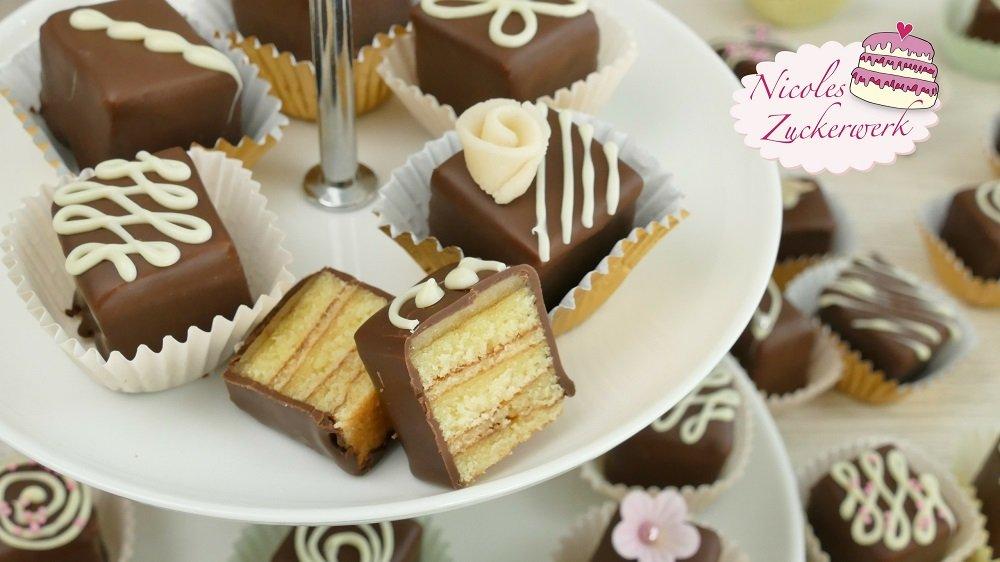 Baumkuchen Petit Fours