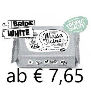 Nicoles Zuckerwerk Massa Ticino Weiss mit Preis