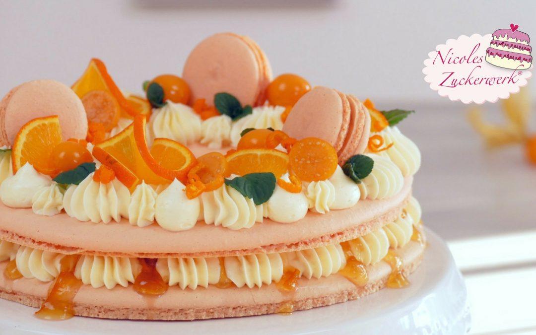 Macaron-Torte I der Hingucker auf eurer Kaffeetafel
