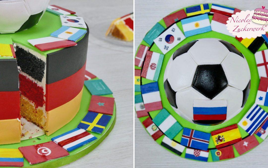Fußballtorte zur WM 2018