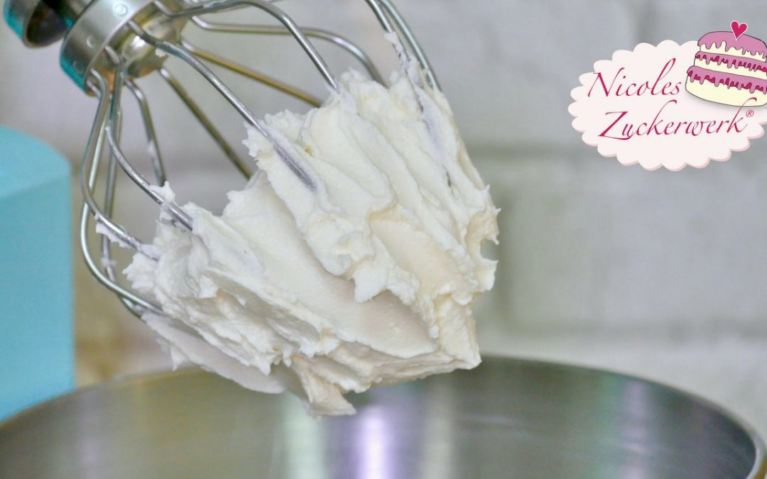 American Icing I Amerikanische Buttercreme I einfach zuzubereiten