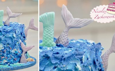 Mermaid-Torte I Unten im Meer I Unterwasserwelt Torte I Mermaid-Cake