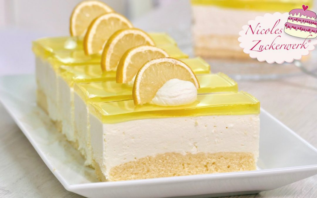 fruchtig Zitronenschnitte