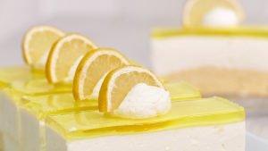 Nicoles Zuckerwerk Zitronenschnitte