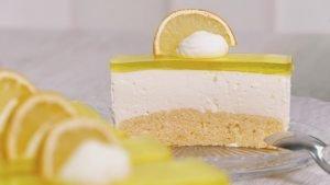 Nicoles Zuckerwerk Zitronenschnitte Stück