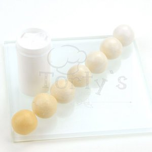 Nicoles Zuckerwerk Torty´s Farbpaste perlweiss 25g