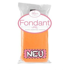 Nicoles Zuckerwerk Torty´s Fondant orange 250g