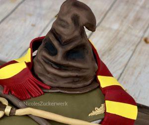 Nicoles Zuckerwerk Harry Potter Motivtorte - Sprechender Hut