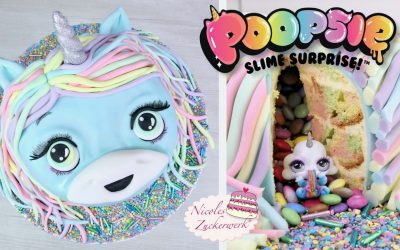 Poopsie Surprise Unicorn Torte I Einhorn Torte