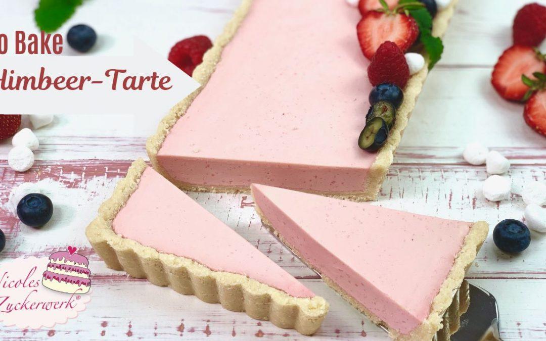 No Bake Himbeer-Philadelphia-Tarte – leckere Sommertorte