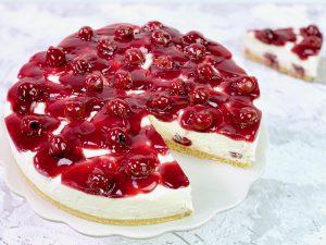 Nicoles Zuckerwerk KiBa Torte Kirsch Bananen Torte
