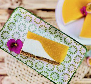 Nicoles Zuckerwerk No bake Pfirsich Maracuja Torte
