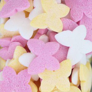 Nicoles Zuckerwerk Zuckerstreusel Schmetterlinge Mix