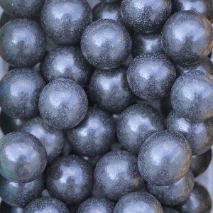Nicoles Zuckerwerk Zuckerperlen schwarz 7mm