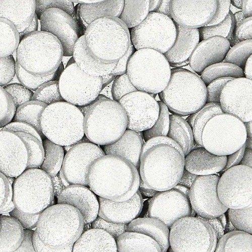 Nicoles Zuckerwerk Streuselbox Zuckerstreusel Konfetti Silber