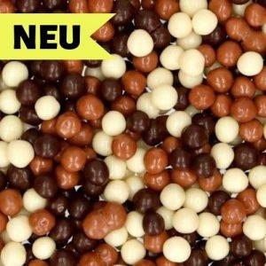 Nicoles Zuckerwerk Streuselbox Schokoladen Knusperperlen Mix Dekoration