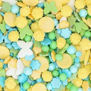 Nicoles Zuckerwerk Streuselbox Zuckerstreusel Sprinkle Medley Frühling