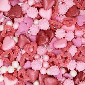 Nicoles Zuckerwerk Streuselbox Zuckerstreusel Sprinkle Medley Love