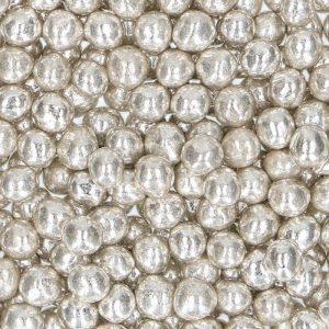Nicoles Zuckerwerk Streuselbox Zuckerstreusel Weiche Perlen Silber