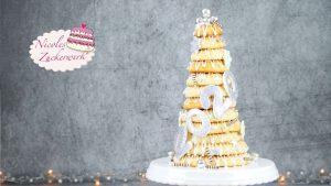 Nicoles Zuckerwerk Kranzkuchen für Silvester