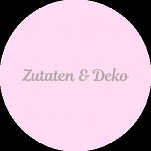Zutaten und Deko