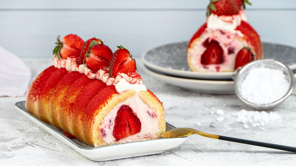 Erdbeer-Tiramisu   ohne Ei und anders serviert