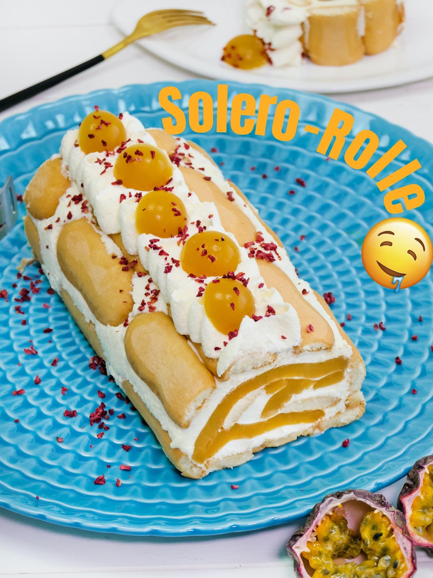 Nicoles Zuckerwerk No bake Solero-Rolle