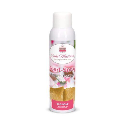 Nicoles Zuckerwerk Shop Pearl-Spray Altgold