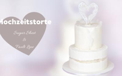 elegante Hochzeitstorte/Jubiläumstorte/Geburtstagstorte