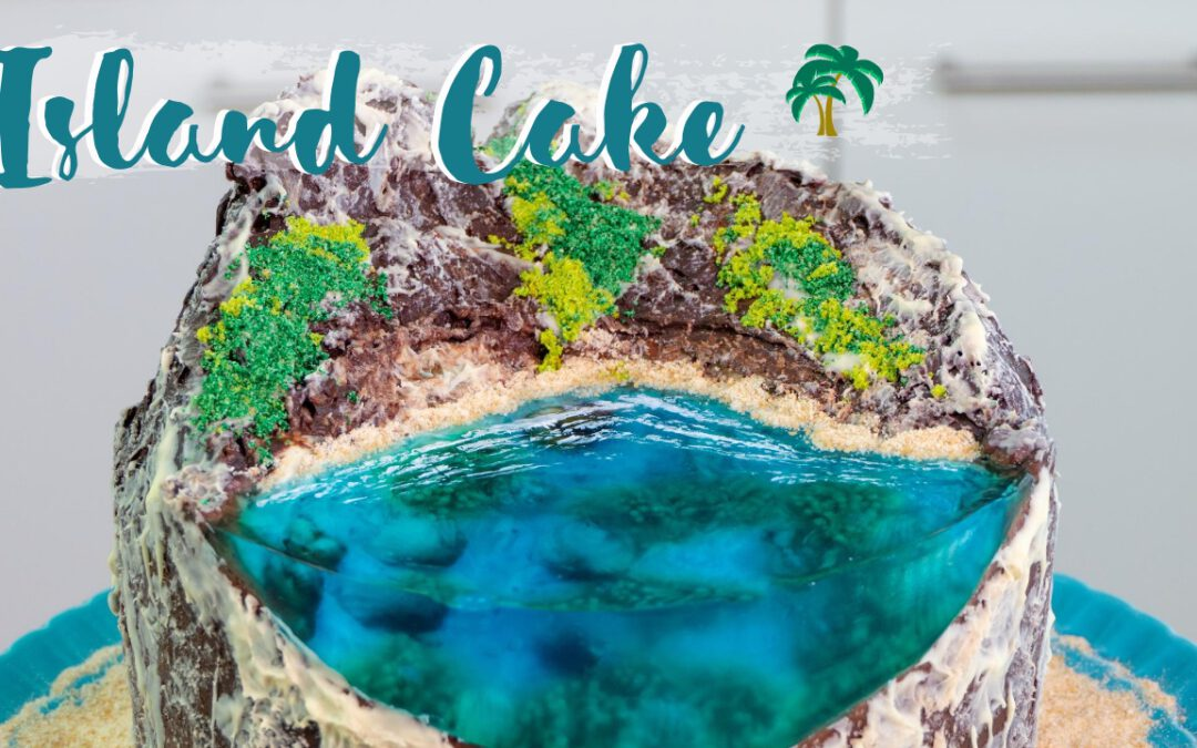 Island Cake | Insel Torte | der Cake Trend 2020