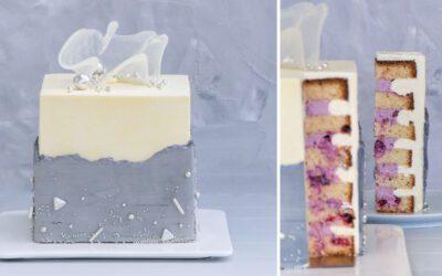 FAULT LINE Torte mit Johannisbeeren