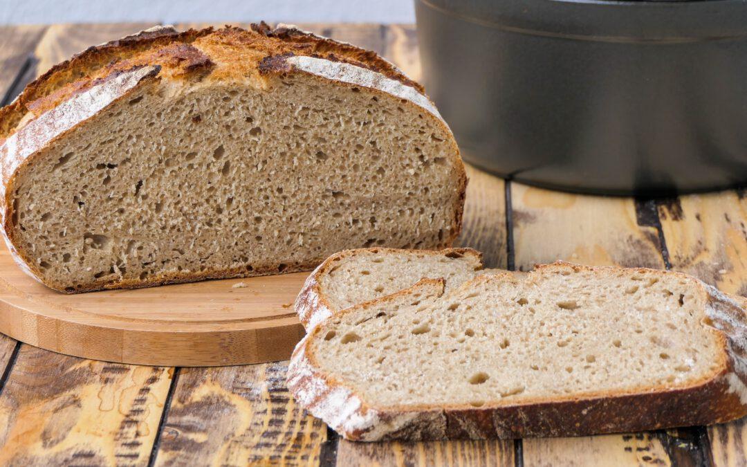 Mischbrot ohne kneten | No knead Bread